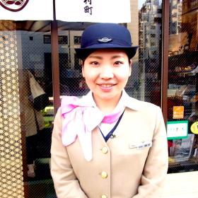 ケイエム観光バス東京事業所の美人バスガイド植村さんのL4YOU取材